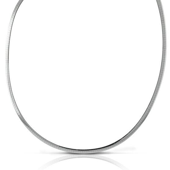 Toscano Reversible Color Omega Necklace 14K