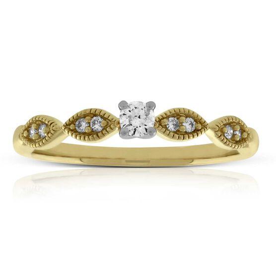 Diamond Promise Ring 14K