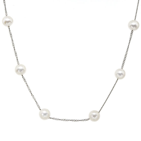 Freshwater Cultured Pearl Necklace 14K