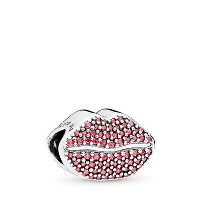 PANDORA Kiss More Lips Charm Gift Set