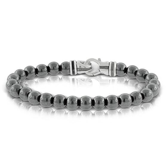 Hematite Bead Bracelet