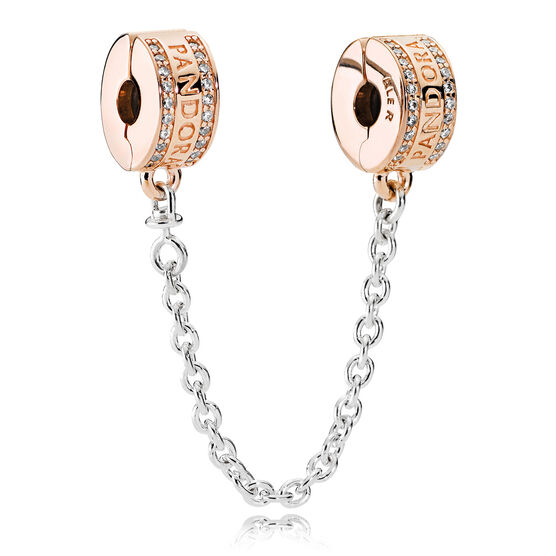PANDORA Insignia, PANDORA Rose™ CZ Safety Chain