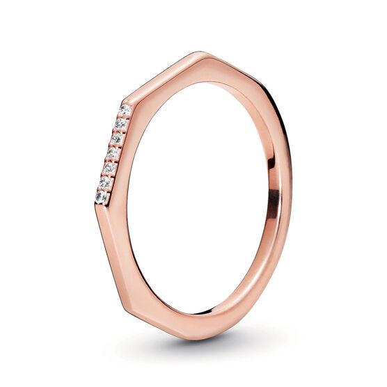 Pandora Rose™ Multifaceted CZ Ring