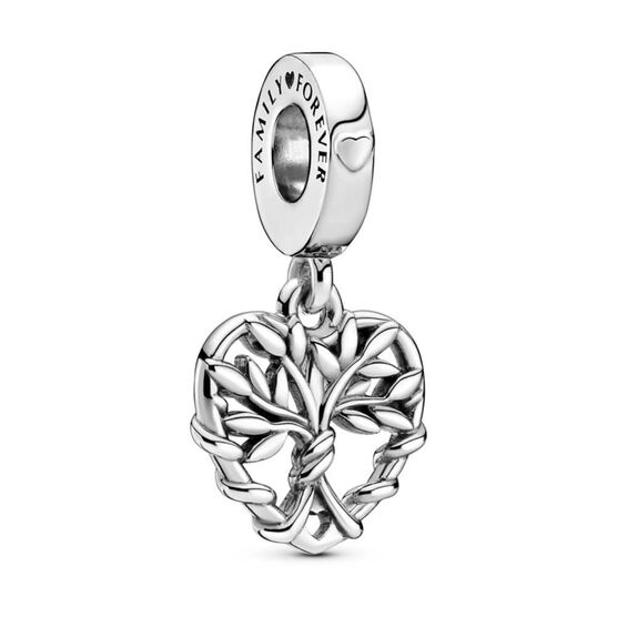 Pandora Heart Family Tree Dangle Charm