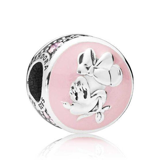 Pandora Disney, Vintage Minnie Enamel & CZ Clip