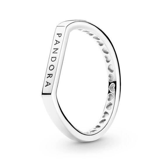 Pandora Logo Bar Stacking Ring