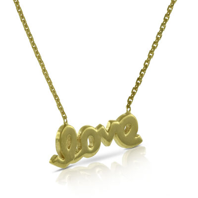 Love Necklace 14K