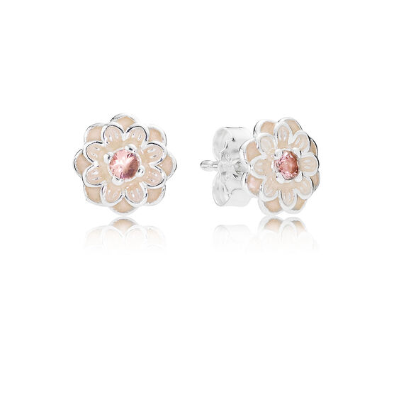 PANDORA Blooming Dahlia Earrings