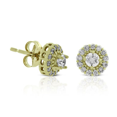 Ia Canadian Diamond Cer Earrings 14k