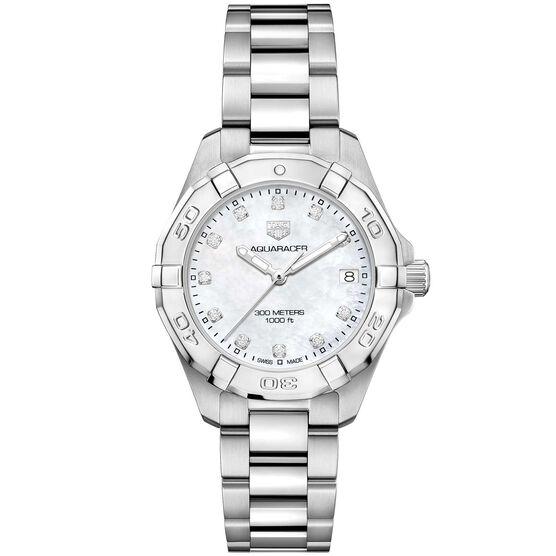 TAG Heuer Aquaracer Diamond Markers Quartz Watch