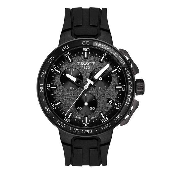 Tissot T-Race Cycling Black PVD Chronograph Watch, 44.5mm