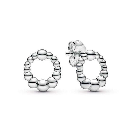 Pandora Purely Pandora Beaded Circle Stud Earrings