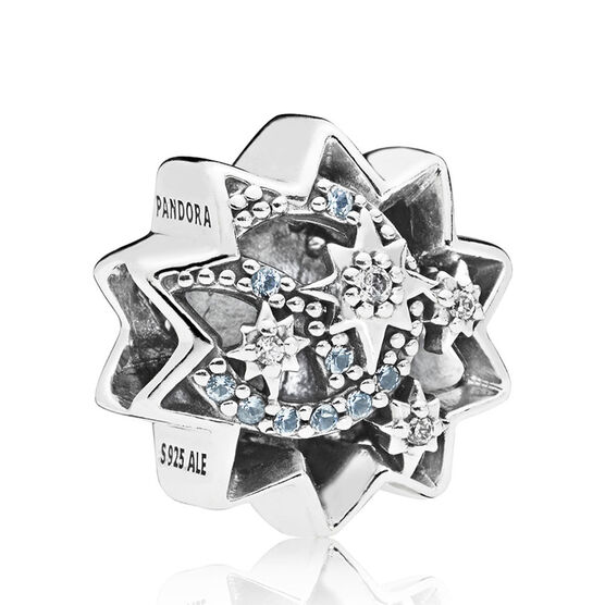 Pandora Disney, When You Wish Upon A Star Enamel & Crystal Charm