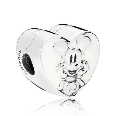 PANDORA Disney, Vintage Mickey Enamel Clip