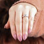 Ikuma Canadian Diamond Solitaire Ring 14K, 1 ct.