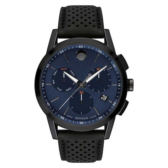 Movado Museum Sport Chronograph Gunmetal PVD Watch