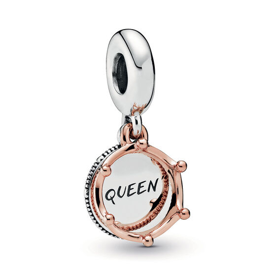 Pandora Wonderland Queen & Regal Crown Dangle Charm