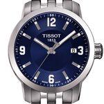 Tissot PRC 200 Blue Dial Steel Quartz Watch, 39mm
