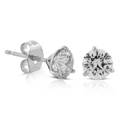 Ikuma Canadian Diamond Earrings 14K, 1 ctw.