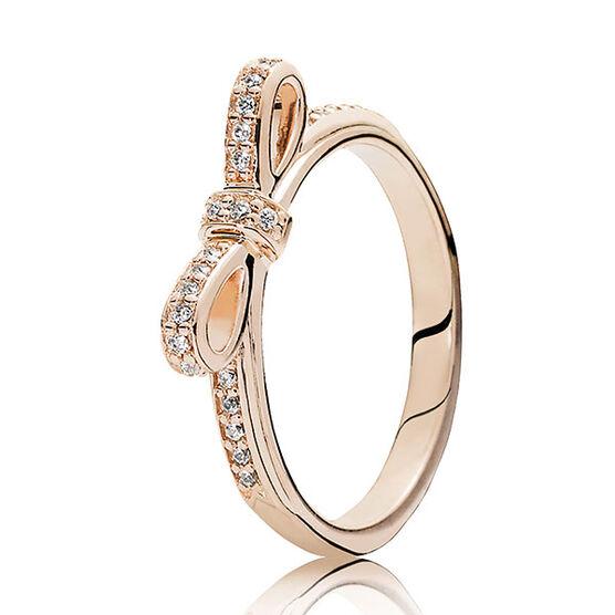 Pandora Rose™ Sparkling Bow Ring