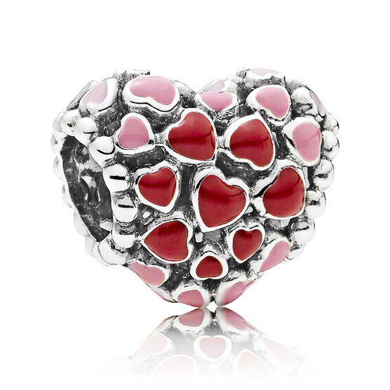 PANDORA Burst of Love Enamel Charm