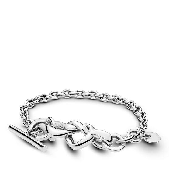 Pandora Knotted Heart Bracelet