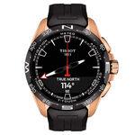 Tissot T-Touch Connect Solar Rose PVD Titanium Watch, 47.5mm