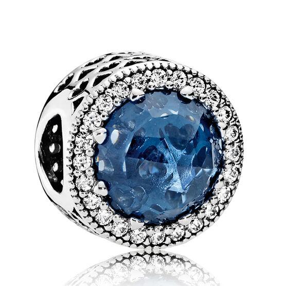 Pandora Radiant Hearts Charm, Crystal & Clear CZ