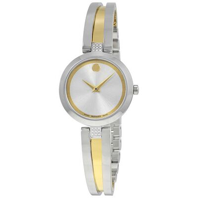 Movado Aleena Two-Tone Diamond Watch