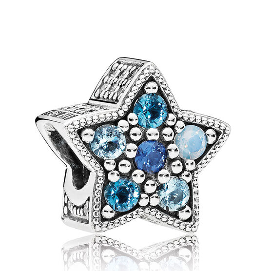 PANDORA Bridge Star Crystal Charm