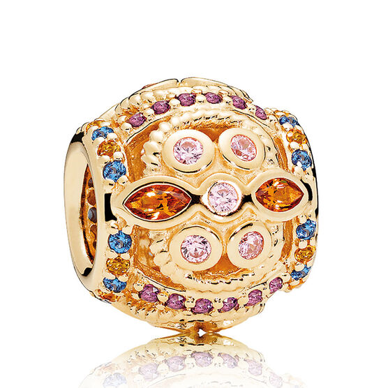 Pandora Color Fresco Crystal & CZ Charm