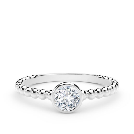 The Forevermark Tribute™ Collection Diamond Ring 18K