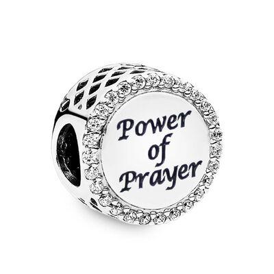 Pandora Power of Prayer CZ Charm