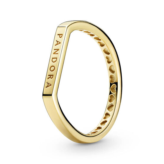 Pandora Shine™ Logo Bar Stacking Ring