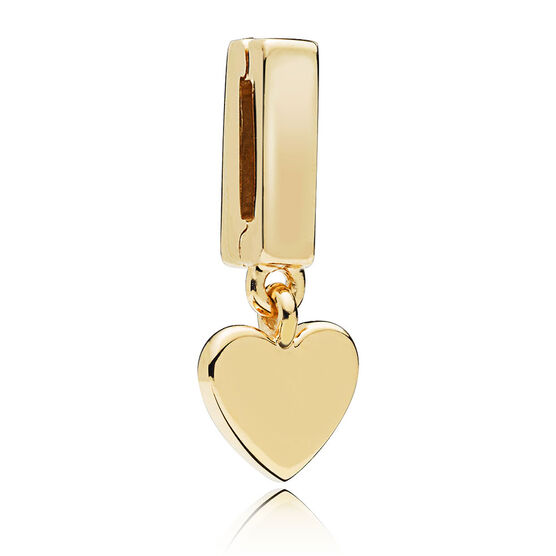 Pandora Reflexions™ Pandora Shine™ Floating Heart Clip Charm
