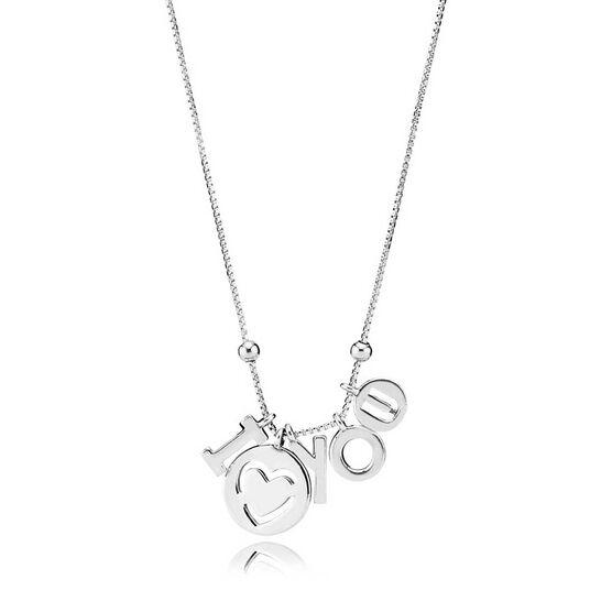 PANDORA I Love You Necklace