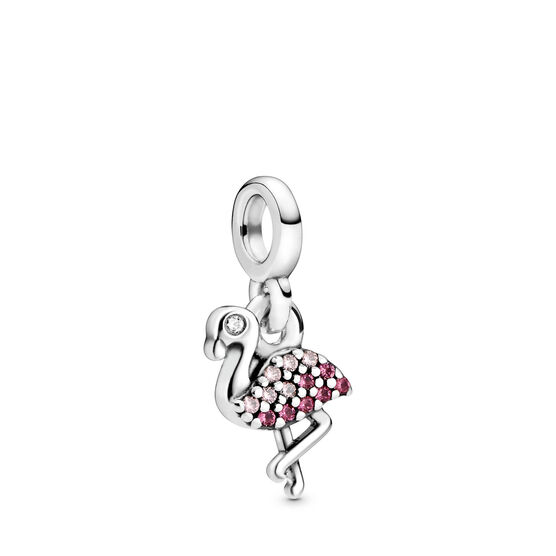 Pandora Me My Pink Flamingo Crystal & CZ Charm