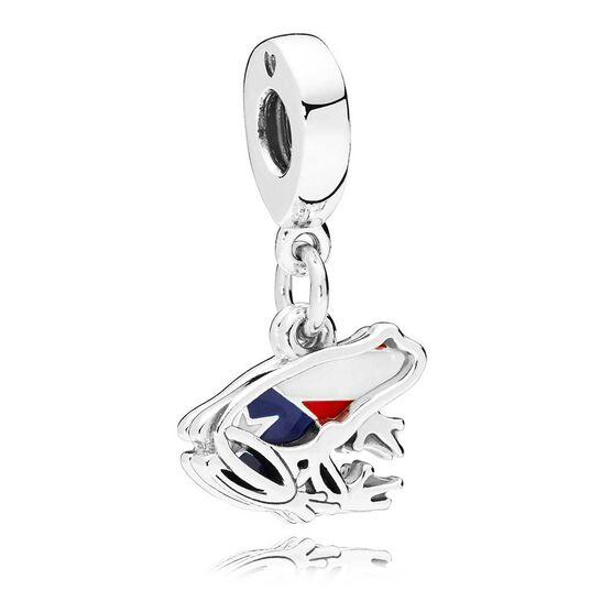 Pandora Love Puerto Rico Enamel Dangle Charm