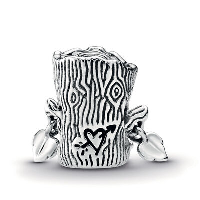 Pandora Wonderland Sweet Tree Monster Enamel & CZ Charm