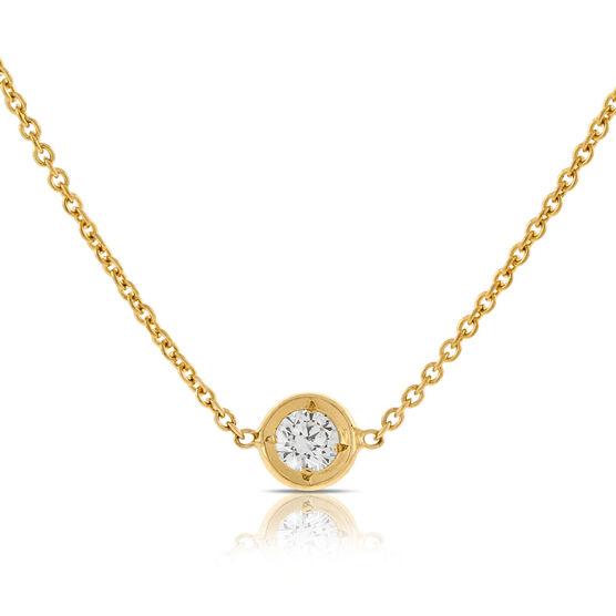 Roberto Coin Diamonds by the Inch Diamond Necklace 18K