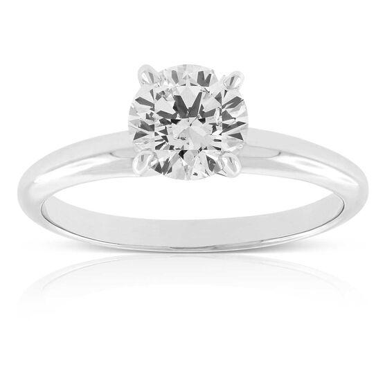 Ikuma Canadian Diamond Solitaire Ring 14K, 1ct.