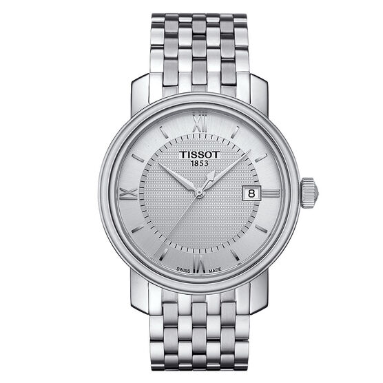 Tissot Bridgeport Men T-Classic Quartz Watch, 40mm