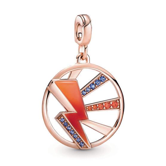 Pandora ME Light ME Up Enamel & Crystal Medallion Charm