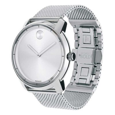 Movado Bold Thin Steel Watch