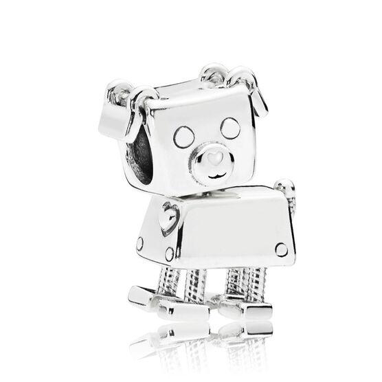PANDORA Bobby Bot Dog Enamel Charm