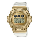 G-Shock Limited Edition Gold IP Transparent Strap Watch, 53.9mm