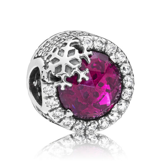 PANDORA Dazzling Snowflake CZ & Crystal Charm