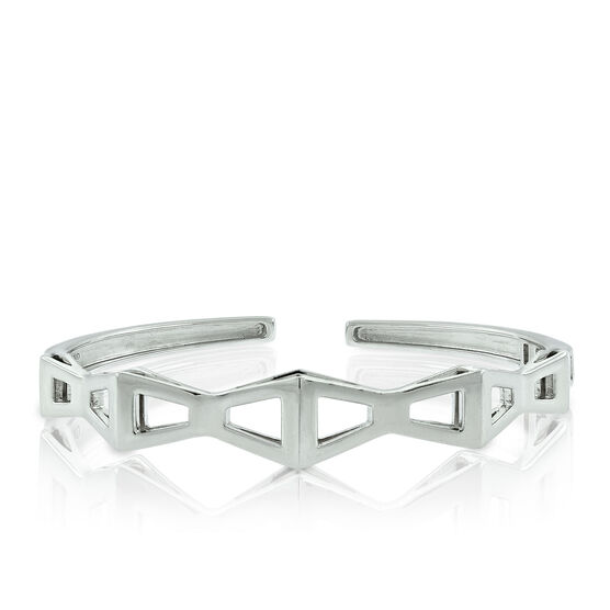 Lisa Bridge Trapezoid Bangle Bracelet