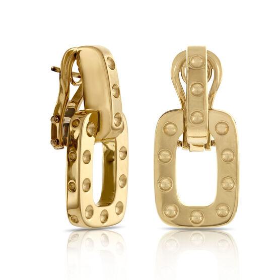 Roberto Coin Pois Moi Earrings 18K