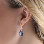 Lisa Bridge Kyanite & Sapphire Earrings